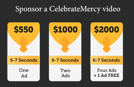 Sponsorship 2014_Prices for Videos