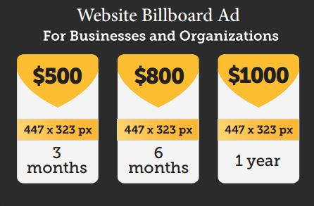 Sponsorship 2014_Prices for Website Ads